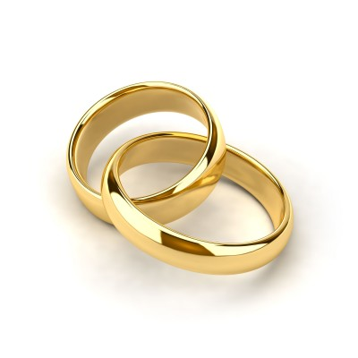 too many gods With linked wedding rings